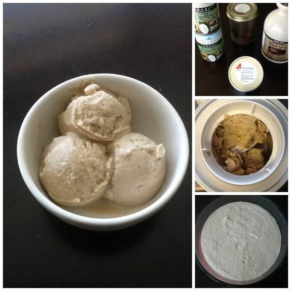 Chocolate Panda Coconut Ice Cream