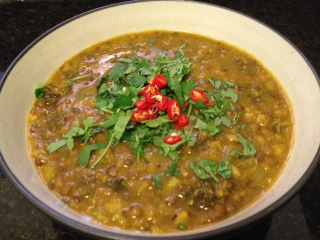 one pot mung daal stew